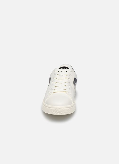 Baskets ECOALF Sandford Sneakers Man Blanc vue portées chaussures