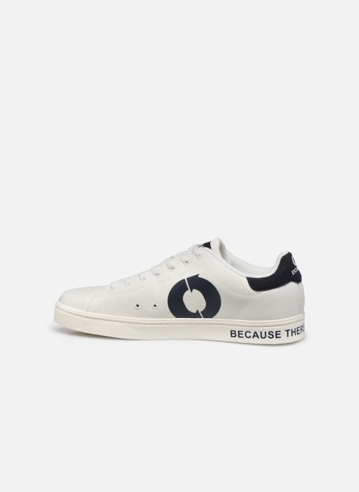 Baskets ECOALF Sandford Sneakers Man Blanc vue face