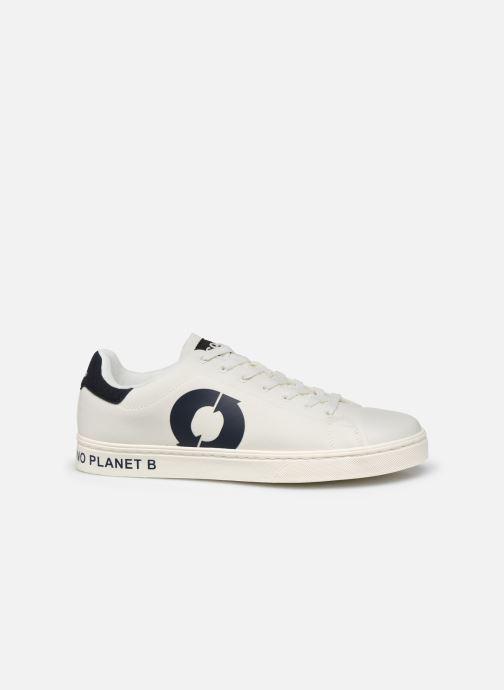 Deportivas ECOALF Sandford Sneakers Man Blanco vistra trasera