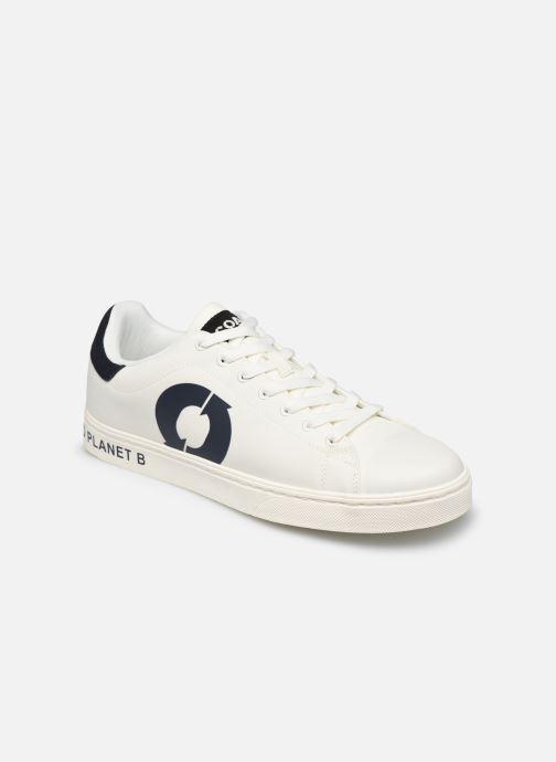 Deportivas ECOALF Sandford Sneakers Man Blanco vista de detalle / par