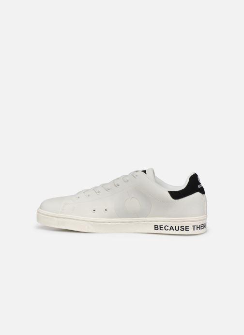 Baskets Ecoalf Sandford Sneakers Man Blanc vue face