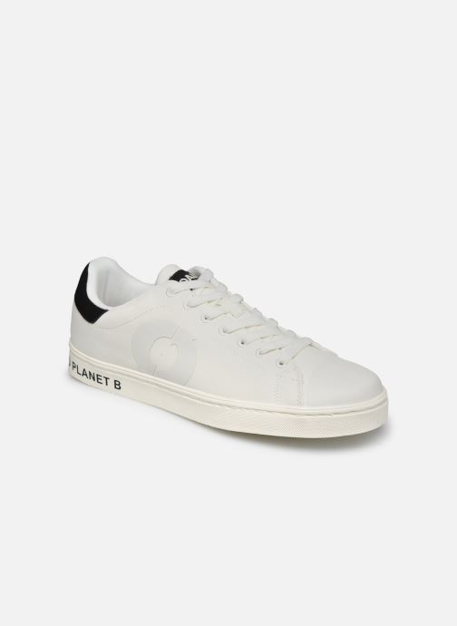 Baskets ECOALF Sandford Sneakers Man Blanc vue détail/paire