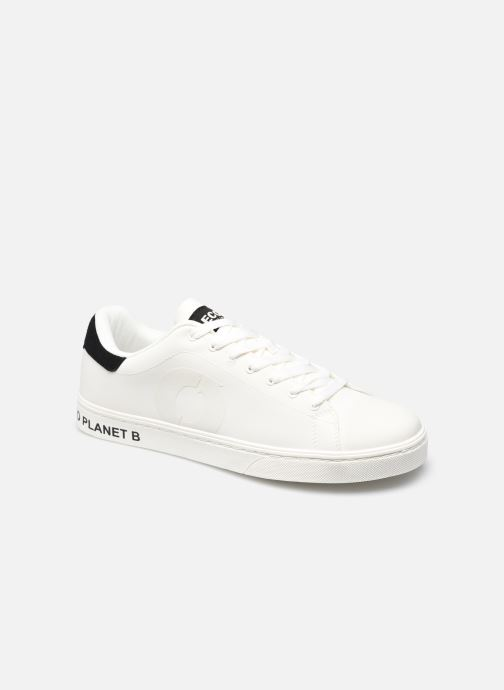Baskets Ecoalf Sandford Sneakers Man Blanc vue détail/paire