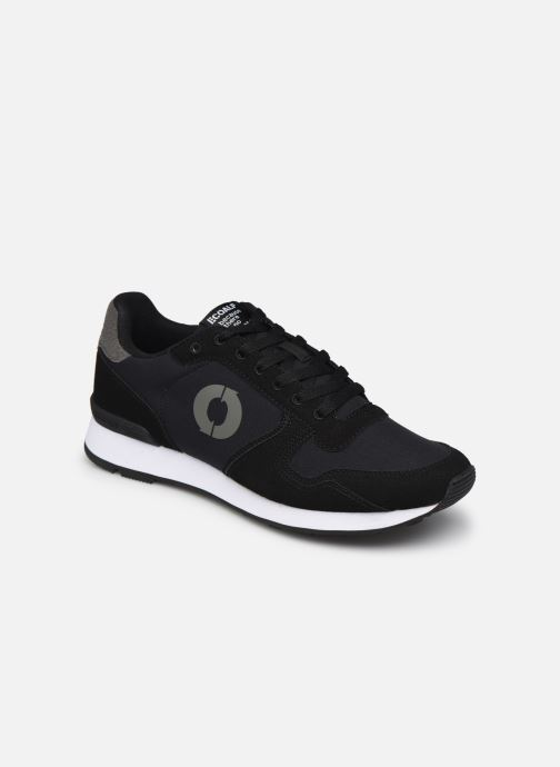 Deportivas ECOALF Yale Sneakers Man Negro vista de detalle / par