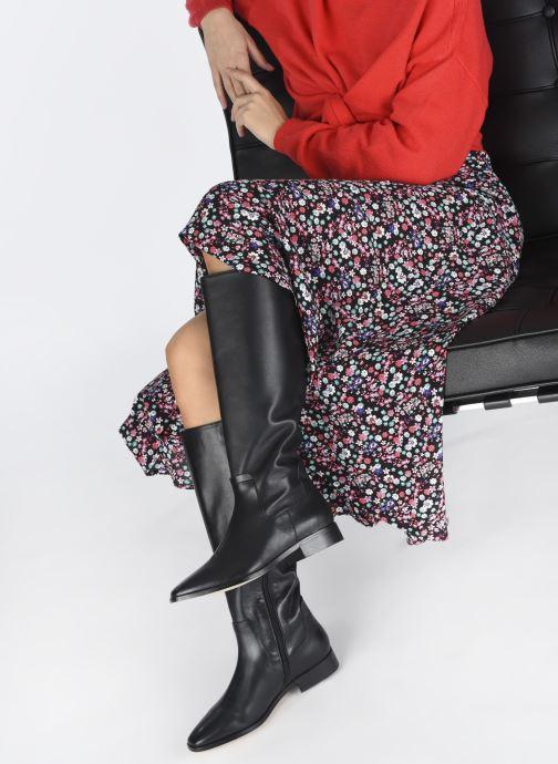Stiefel Made by SARENZA Sartorial Folk Bottes #3 schwarz ansicht von unten / tasche getragen