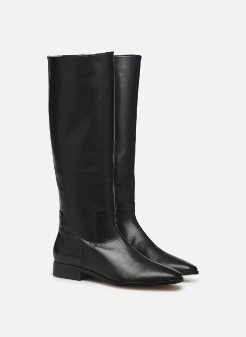 Stiefel Made by SARENZA Sartorial Folk Bottes #3 schwarz ansicht von hinten