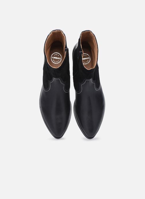 Botines  Made by SARENZA Sartorial Folk Boots #7 Negro vista del modelo