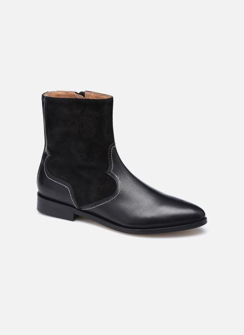 Botines  Made by SARENZA Sartorial Folk Boots #7 Negro vista lateral derecha