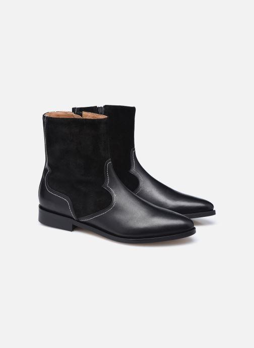 Botines  Made by SARENZA Sartorial Folk Boots #7 Negro vistra trasera