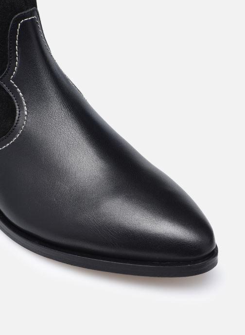 Botines  Made by SARENZA Sartorial Folk Boots #7 Negro vista lateral izquierda
