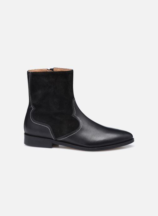 Botines  Made by SARENZA Sartorial Folk Boots #7 Negro vista de detalle / par