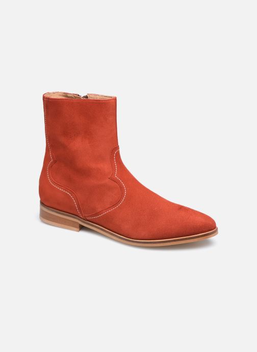 Bottines et boots Made by SARENZA Sartorial Folk Boots #7 Rouge vue droite