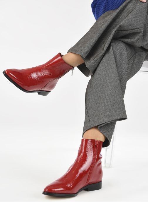 Bottines et boots Made by SARENZA Electric Feminity Boots #1 Rouge vue bas / vue portée sac