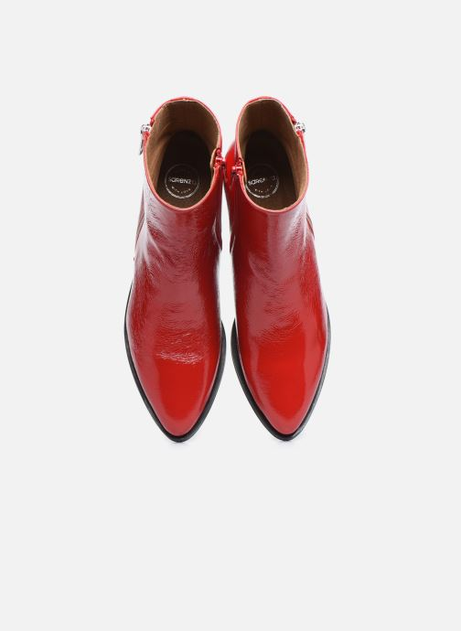 Botines  Made by SARENZA Electric Feminity Boots #1 Rojo vista del modelo