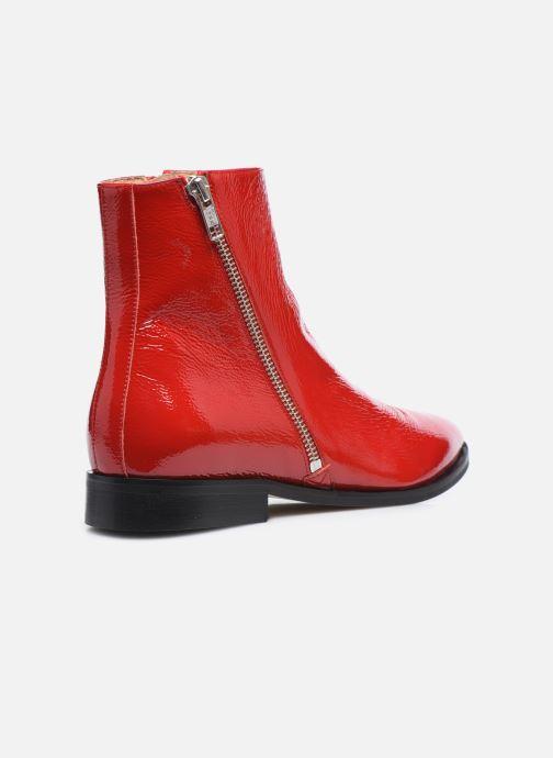 Botines  Made by SARENZA Electric Feminity Boots #1 Rojo vista de frente