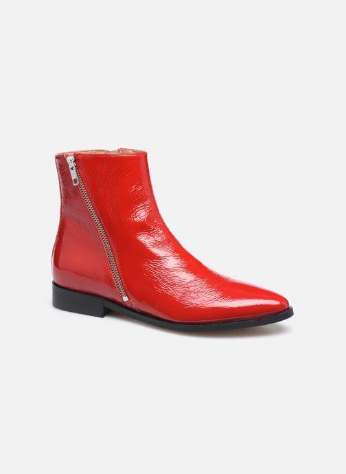 Botines  Made by SARENZA Electric Feminity Boots #1 Rojo vista lateral derecha