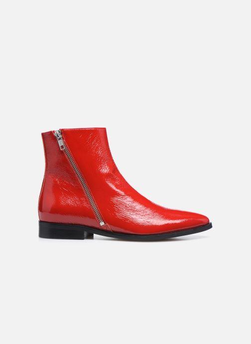 Bottines et boots Made by SARENZA Electric Feminity Boots #1 Rouge vue détail/paire