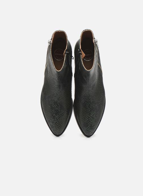 Stiefeletten & Boots Made by SARENZA Electric Feminity Boots #1 grün schuhe getragen