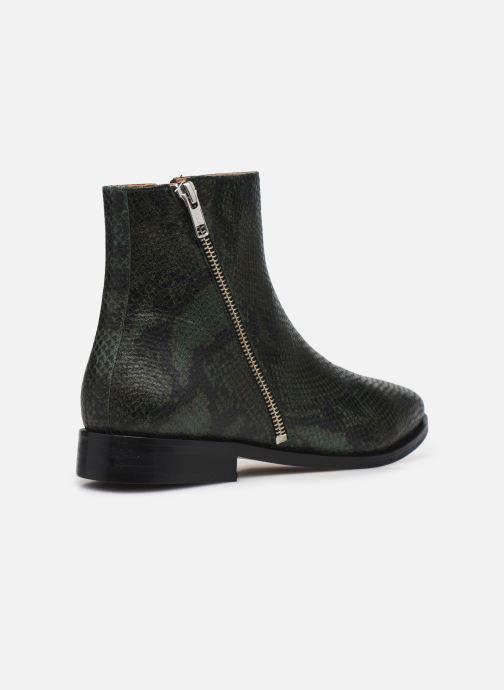 Botines  Made by SARENZA Electric Feminity Boots #1 Verde vista de frente