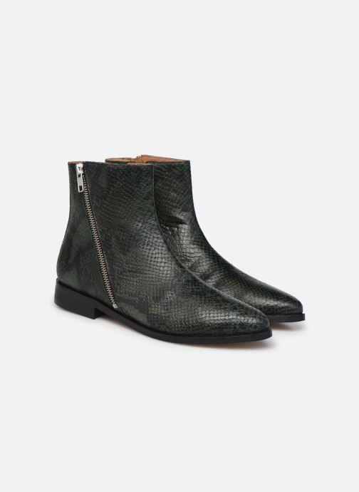 Stiefeletten & Boots Made by SARENZA Electric Feminity Boots #1 grün ansicht von hinten