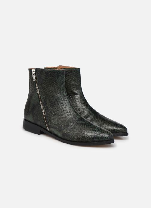 Botines  Made by SARENZA Electric Feminity Boots #1 Verde vistra trasera