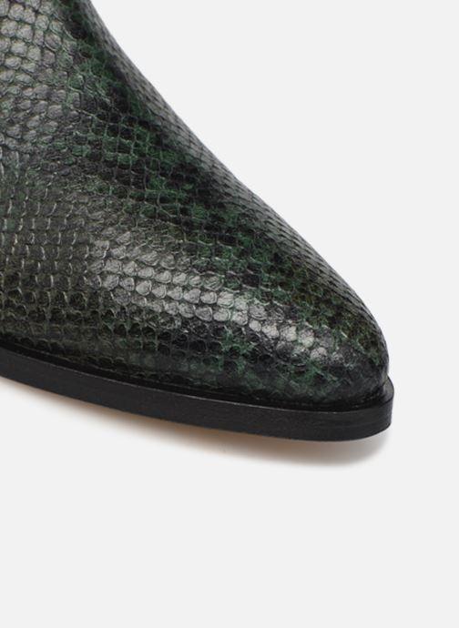 Stiefeletten & Boots Made by SARENZA Electric Feminity Boots #1 grün ansicht von links