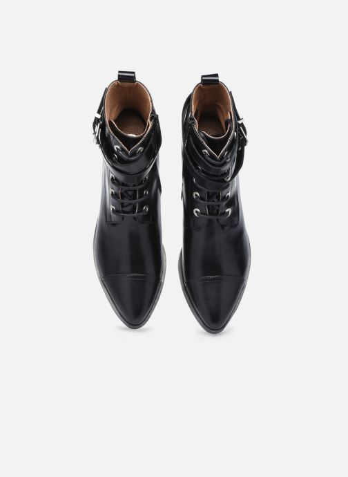 Stiefeletten & Boots Made by SARENZA Electric Feminity Boots #3 schwarz schuhe getragen