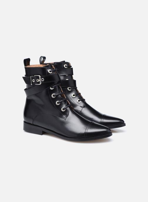 Bottines et boots Made by SARENZA Electric Feminity Boots #3 Noir vue derrière