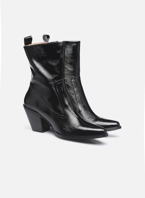 Boots en enkellaarsjes Made by SARENZA Electric Feminity Boots #4 Zwart achterkant