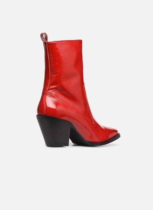 Stivaletti e tronchetti Made by SARENZA Electric Feminity Boots #4 Rosso immagine frontale