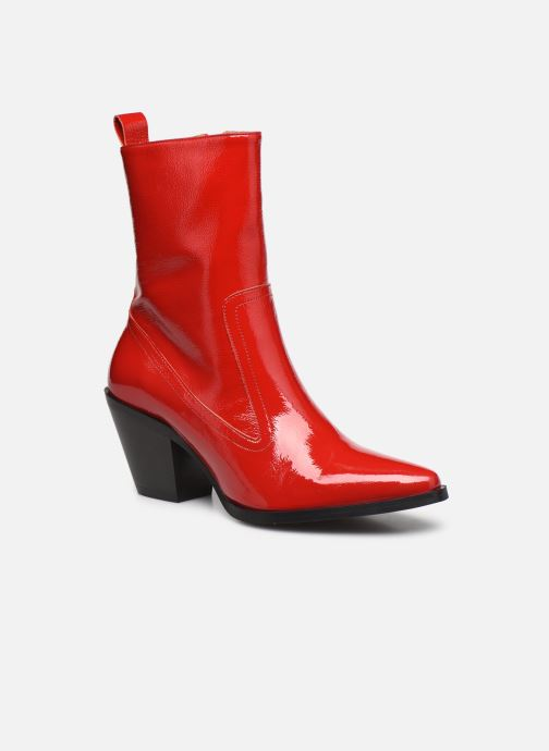 Bottines et boots Made by SARENZA Electric Feminity Boots #4 Rouge vue droite