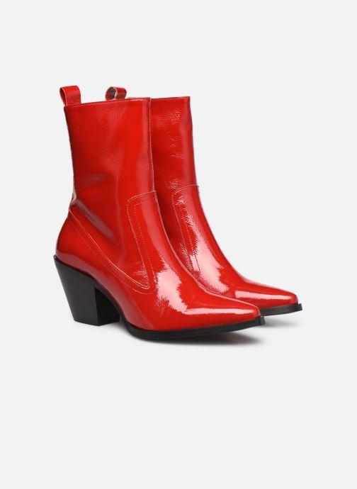 Stivaletti e tronchetti Made by SARENZA Electric Feminity Boots #4 Rosso immagine posteriore