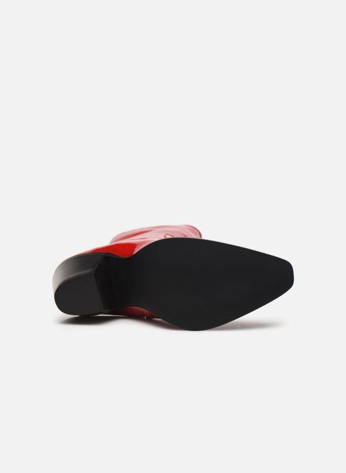 Stivaletti e tronchetti Made by SARENZA Electric Feminity Boots #4 Rosso immagine dall'alto