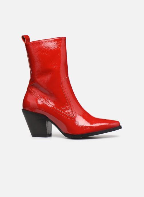 Botines  Made by SARENZA Electric Feminity Boots #4 Rojo vista de detalle / par