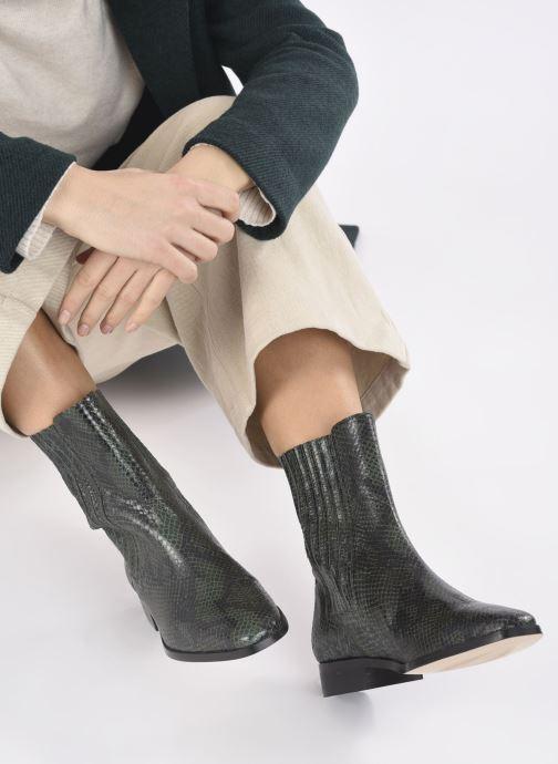 Stivaletti e tronchetti Made by SARENZA Sartorial Folk Boots #9 Verde immagine dal basso
