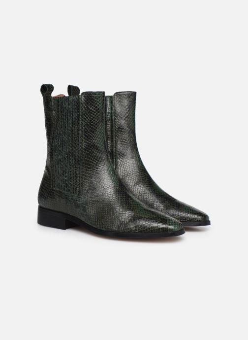 Stivaletti e tronchetti Made by SARENZA Sartorial Folk Boots #9 Verde immagine posteriore