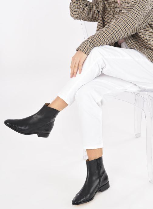 Bottines et boots Made by SARENZA Classic Mix Boots #11 Noir vue bas / vue portée sac