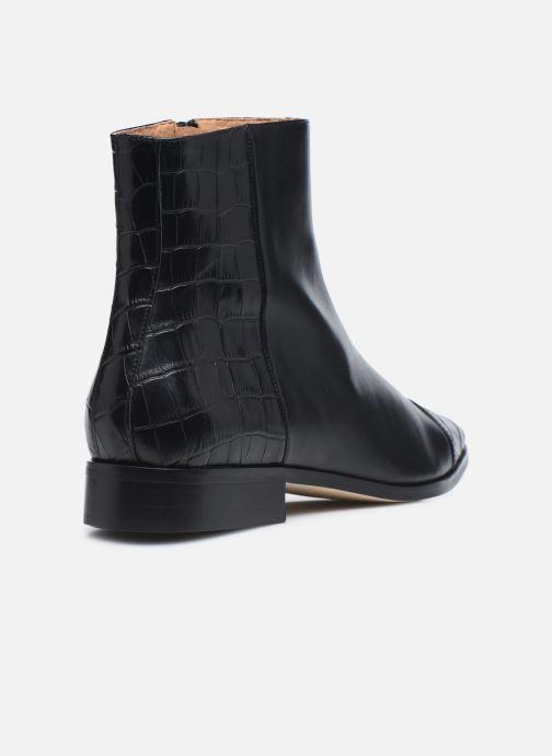 Bottines et boots Made by SARENZA Classic Mix Boots #11 Noir vue face