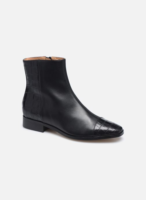 Botines  Made by SARENZA Classic Mix Boots #11 Negro vista lateral derecha