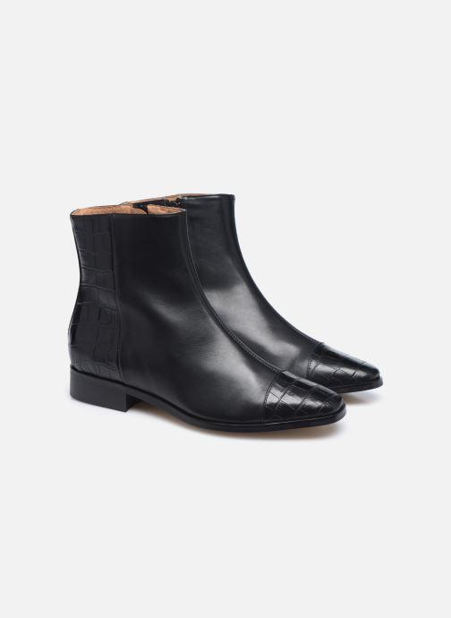 Botines  Made by SARENZA Classic Mix Boots #11 Negro vistra trasera