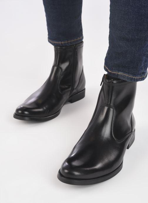 Bottines et boots Mr SARENZA Newmont Noir vue bas / vue portée sac
