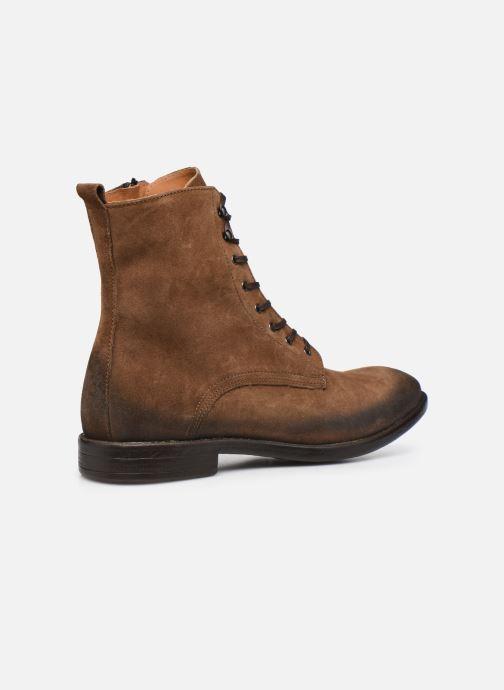 Bottines et boots Mr SARENZA Notello Marron vue face