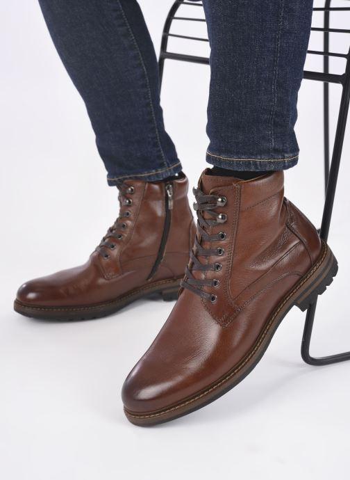 Bottines et boots Mr SARENZA Nochelli Marron vue bas / vue portée sac