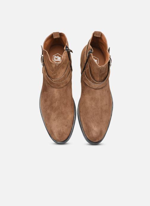 Bottines et boots Mr SARENZA Noural Marron vue portées chaussures