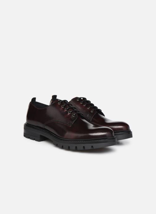 Zapatos con cordones Mr SARENZA Nyno Vino vistra trasera
