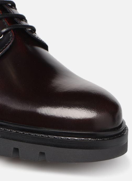 Zapatos con cordones Mr SARENZA Nyno Vino vista lateral izquierda