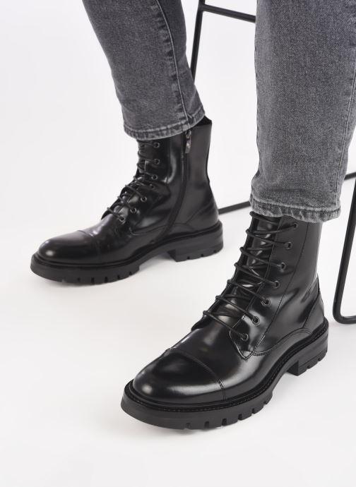 Bottines et boots Mr SARENZA Novalac Noir vue bas / vue portée sac