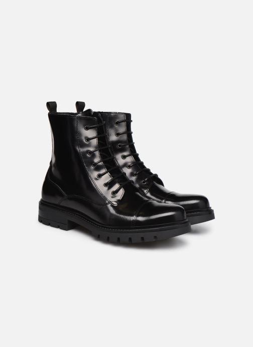 Bottines et boots Mr SARENZA Novalac Noir vue derrière