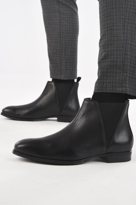 Bottines et boots Marvin&Co Nuno Noir vue bas / vue portée sac