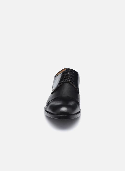 Schnürschuhe Marvin&Co Newbury schwarz schuhe getragen